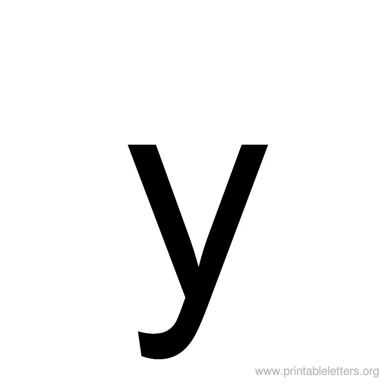 Printable Letters Y Letter Y For Kids Printable