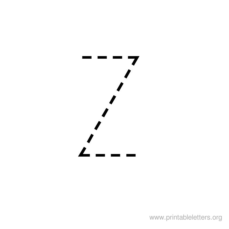 Printable Letters Z Letter Z For Kids Printable