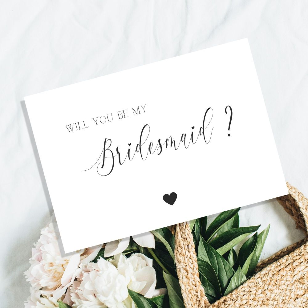 Will You Be My Bridesmaid Cards Printable Cards Within Will You Be My Bridesmaid Card Template