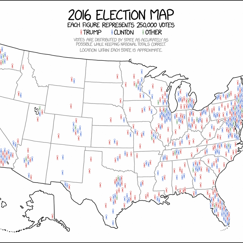 Blank Electoral College Map Printable