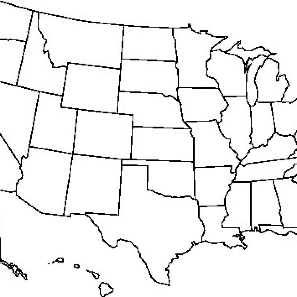 Usa Map Printable