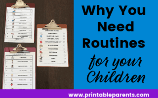 three-clipboards-with-morning-after-school-bedtime-routines-for-children