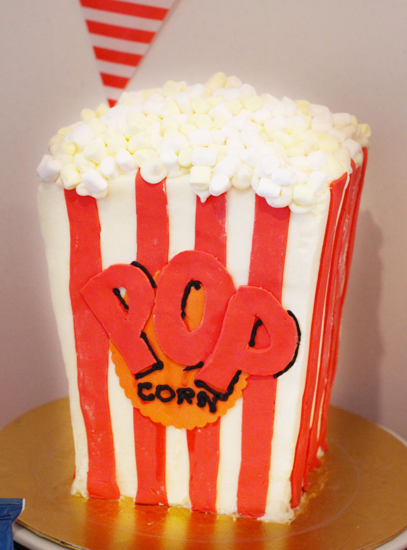 This is an image of a Popcorn Cake.