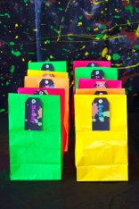 Party Bags with Luggage Tags