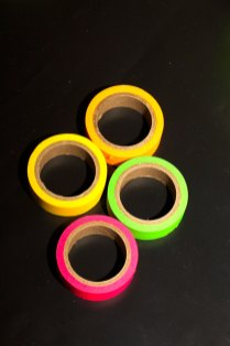 This is an image of neon wash tape.