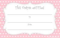 valentines voucher template