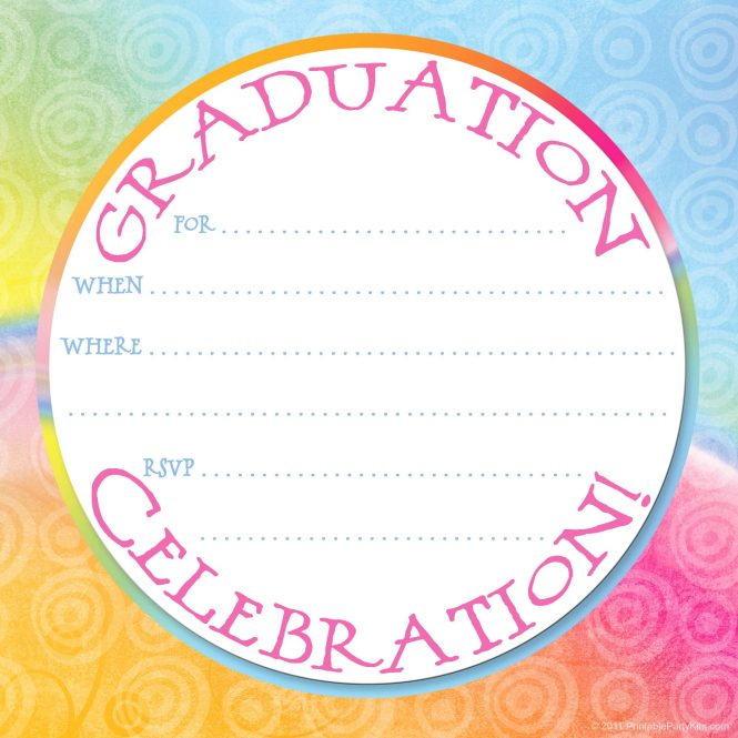 Search Results For Graduation Party Invitation Background 12