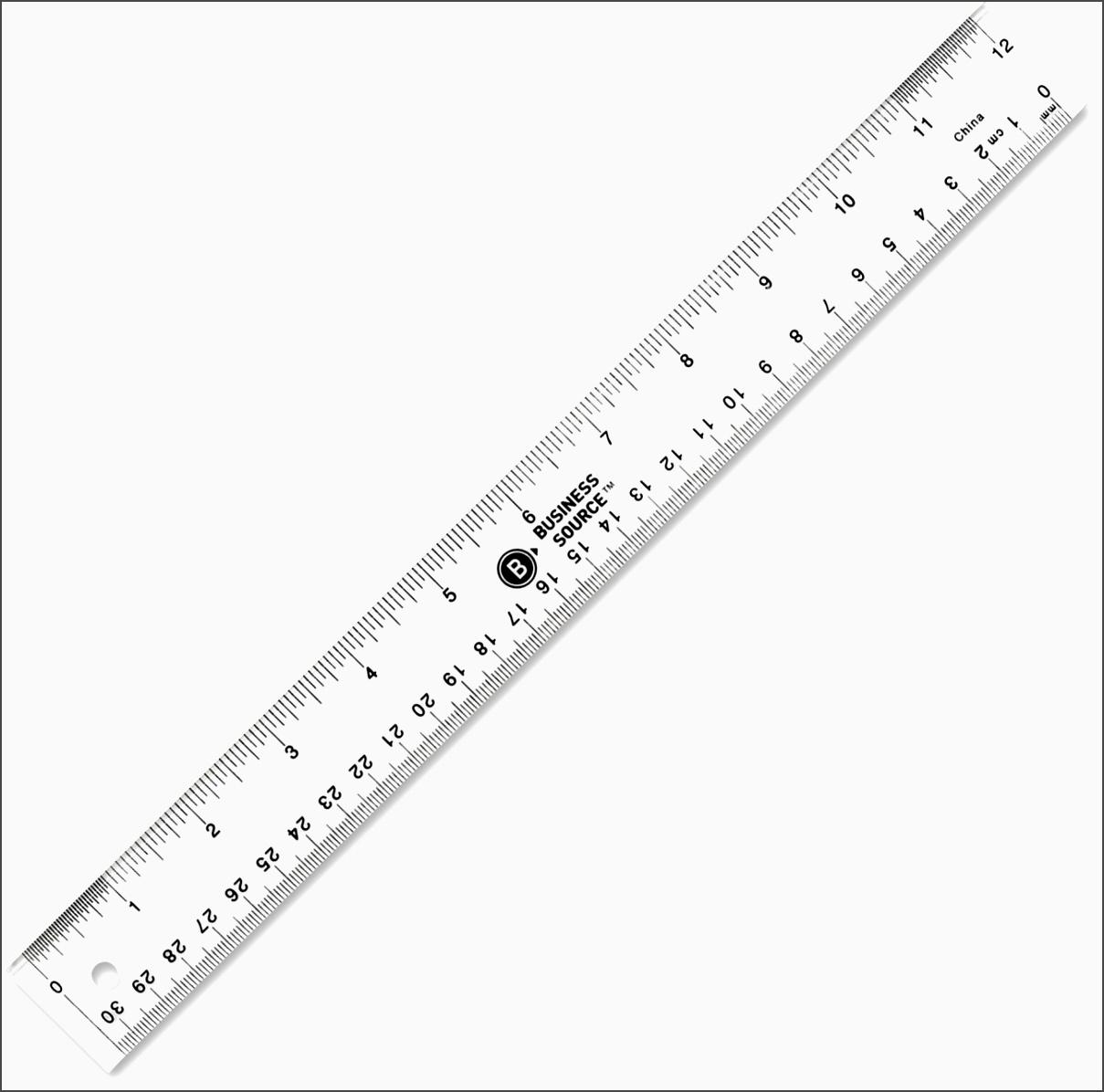 Printable Usable Ruler