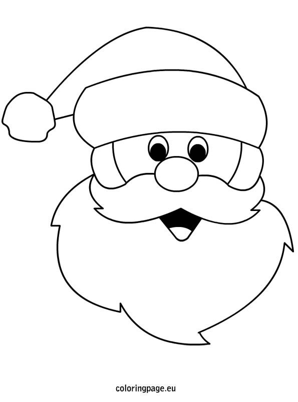 coloring pages of santa claus # 15