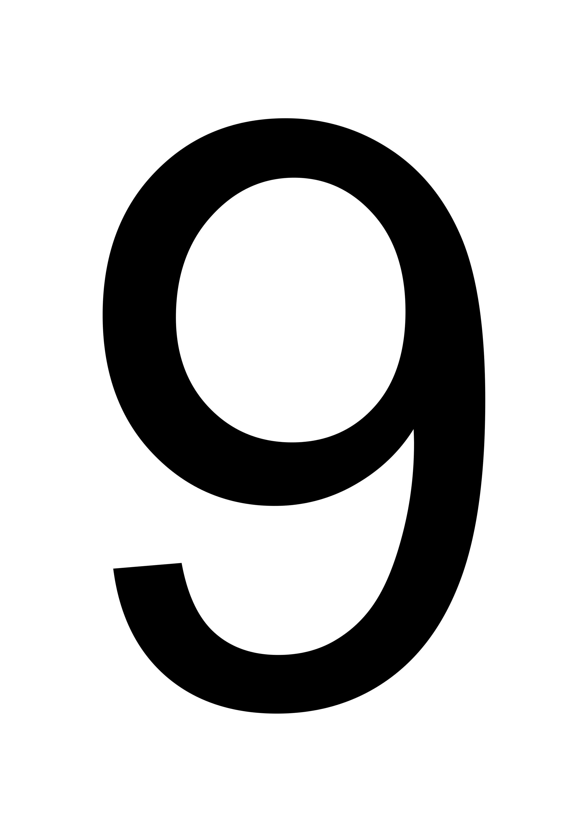 Printable Large Number 9 Flash Card Template