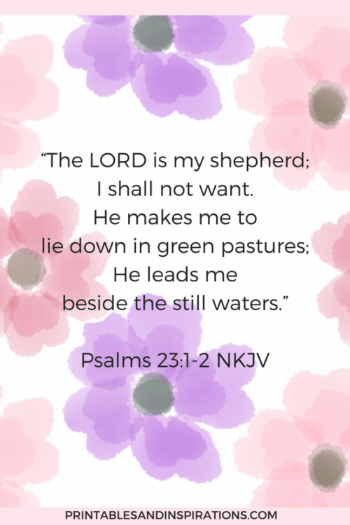 Rest your mind, psalm 23 lessons, bible study, inspiration, bible verse