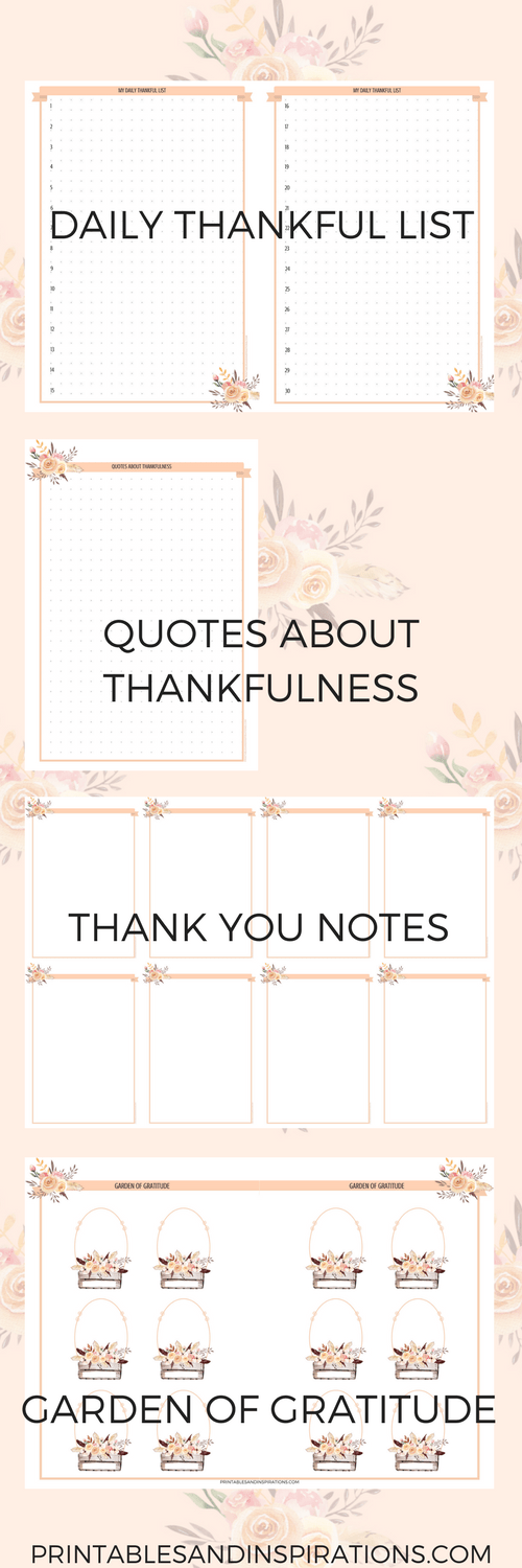 free gratitude journal    planner plus calendar template
