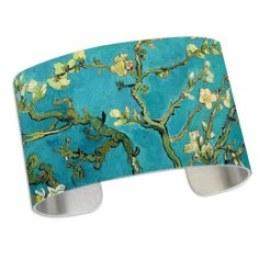 Blossoming Almond Tree Cuff Bracelet