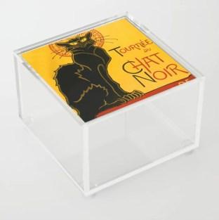 Le Chat Noir Acrylic Box