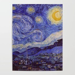 Vincent Van Gogh Starry Night Poster