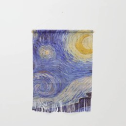 Vincent Van Gogh Starry Night Wall Hanging