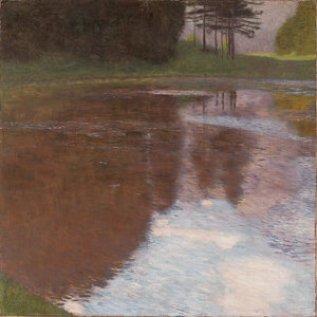 tranquil-pond-gustav-klimt