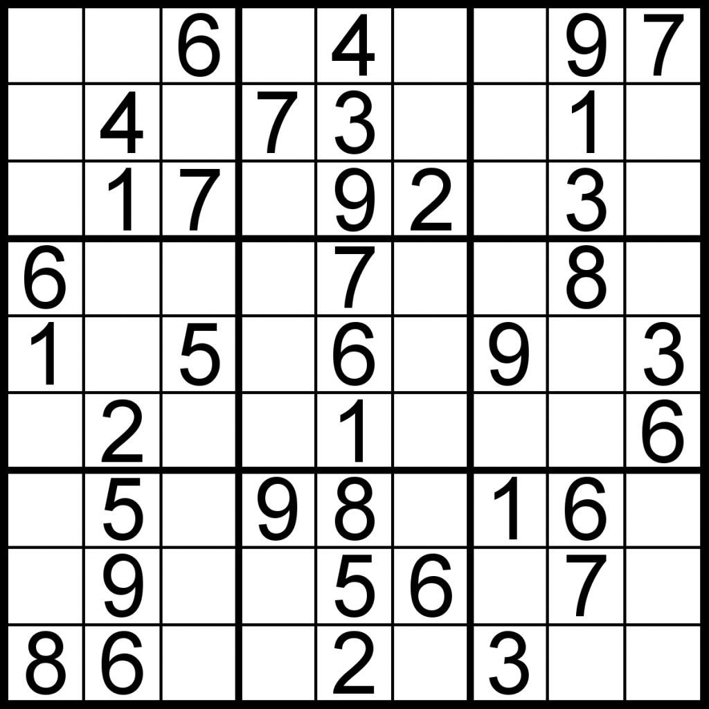 Easy Sudoku Puzzles Printable 95 Images In Collection Page 1