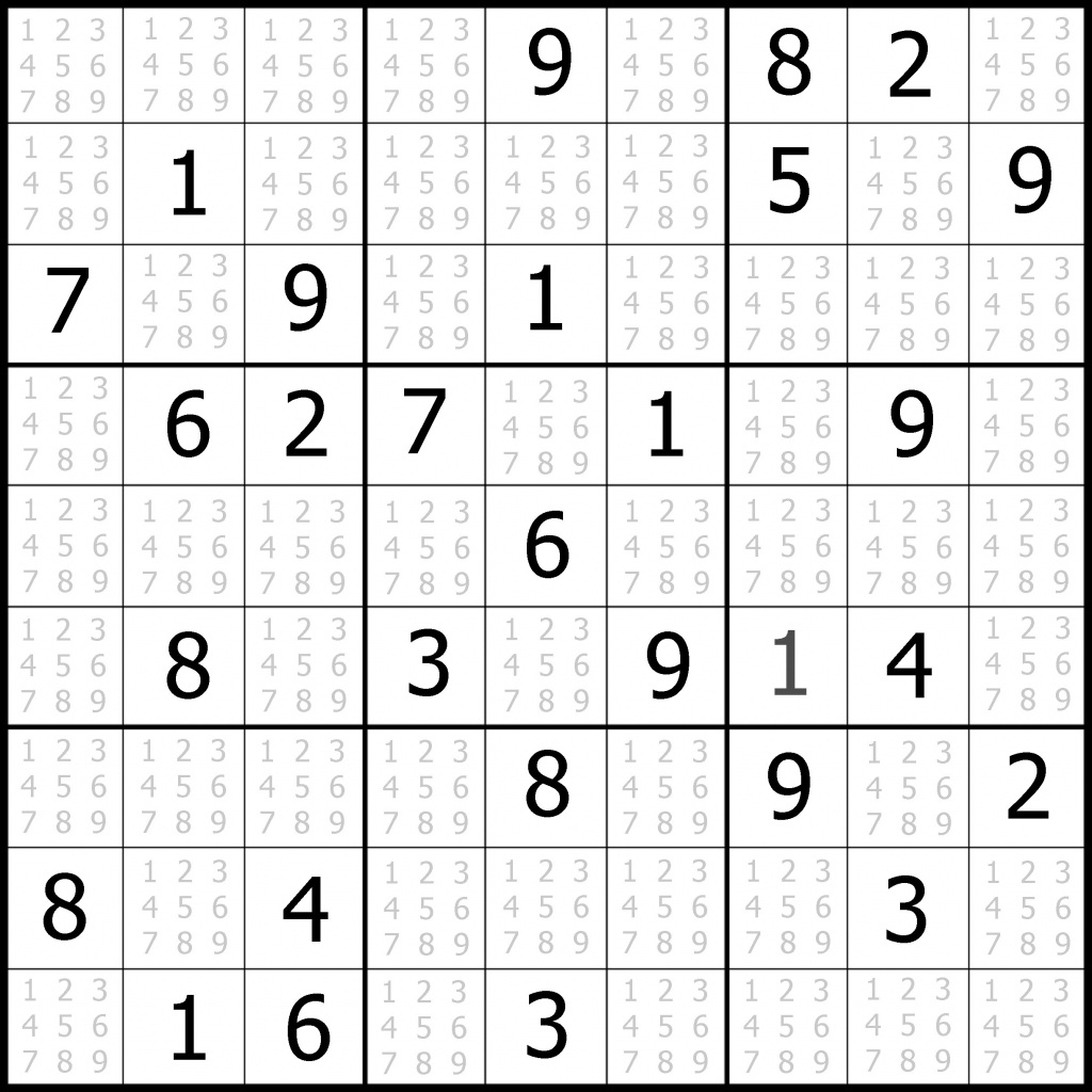 Sudoku Blank Grids 6 Per Page Archives