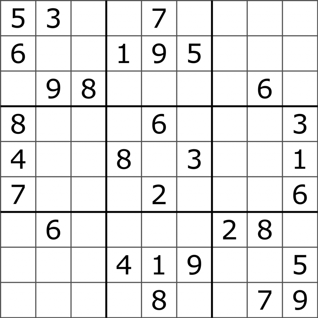 Free Printable Logic Puzzles With Grid
