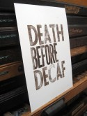 P&E Death Before Decaf