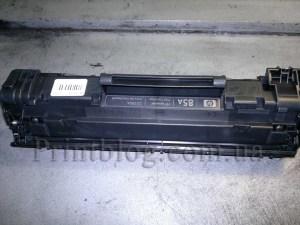 Заправка лазерного  картриджа HP 35А36А78А85А  и Canon 712713725726728