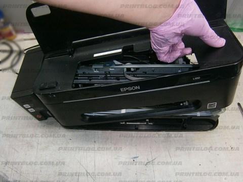 Ремонт подачи бумаги в принтерах Epson