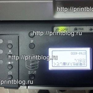 Ошибка Canon MF5940dn_E744-4000