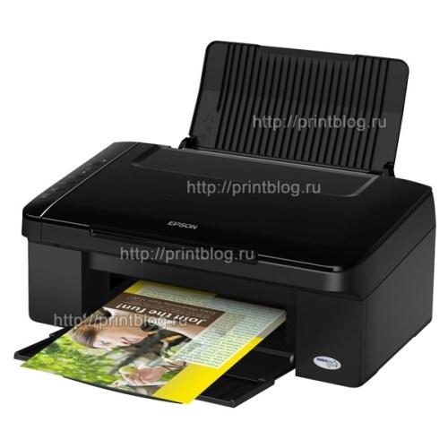 Скачать бесплатно драйвер для принтера Epson Stylus TX117 TX119