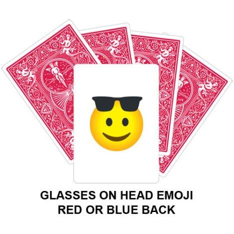 Glasses On Head Emoji Gaff Card
