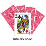 Mis Indexed QD/QC gaff card
