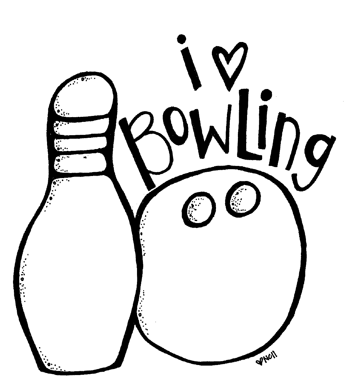 15 Bowling Coloring Page To Print
