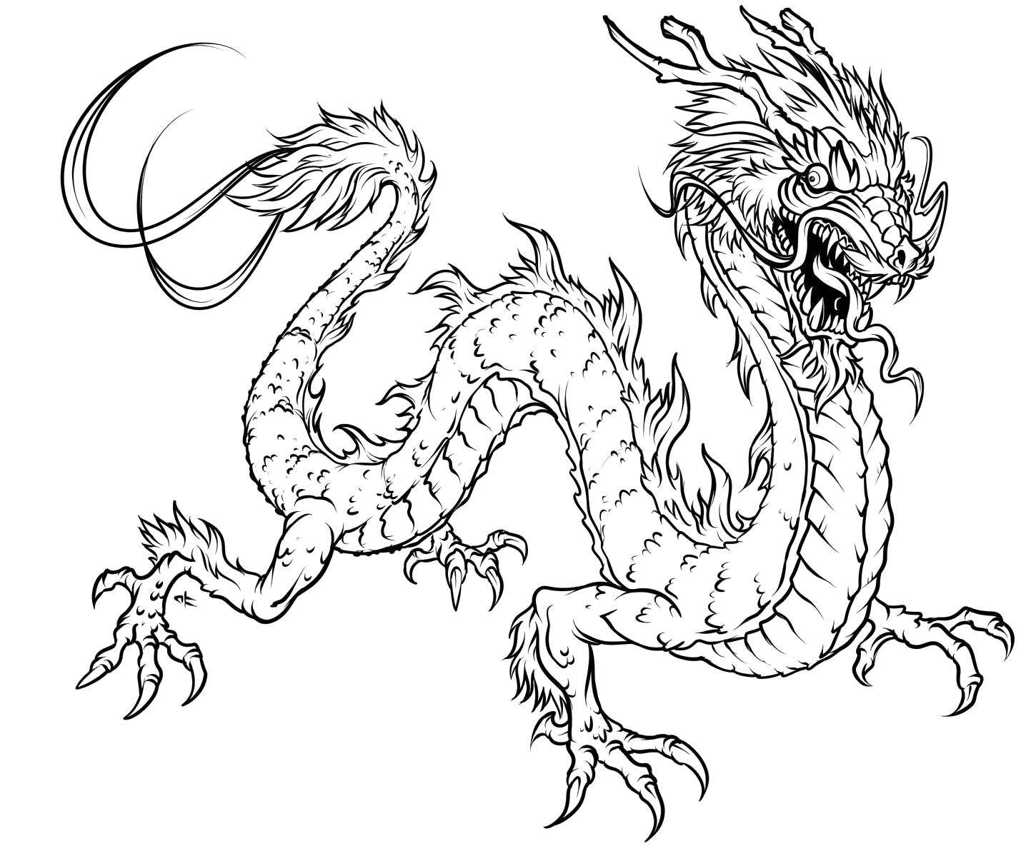 Mythological Dragons 35 Dragon Coloring Pages And Pictures