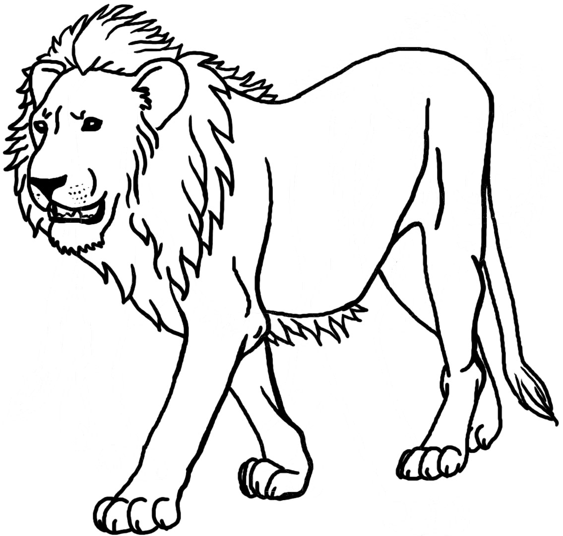 12 Printable Lion Coloring Pages