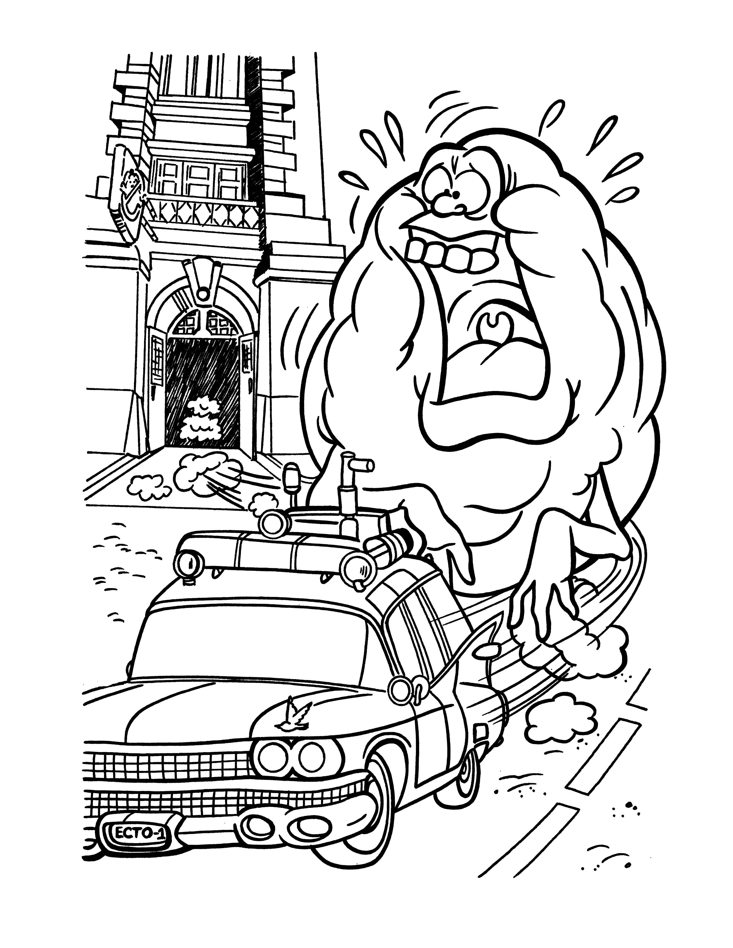 15 Printable Ghostbusters Coloring Pages