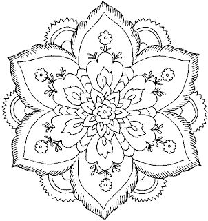 coloring pages flower # 29