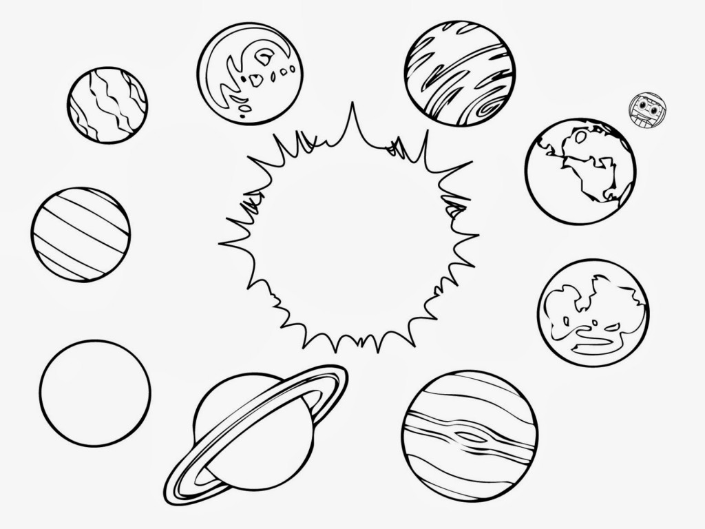 15 Solar System Coloring Pages For Kids