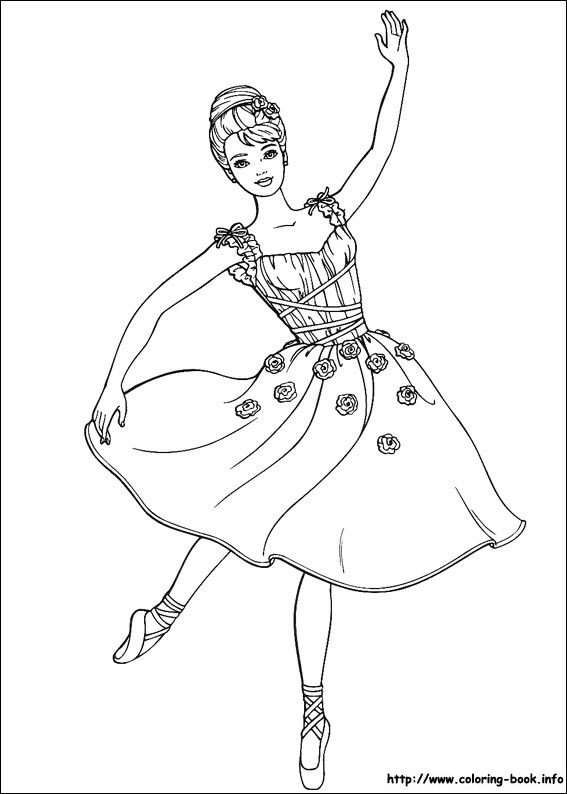 barbie coloring pages # 64