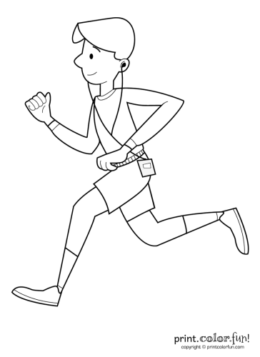 More Coloring Pages You Might Like Exerciserunningsports