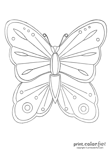 Butterfly-to-color-1916