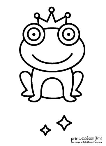 Fairy Tale magical frog