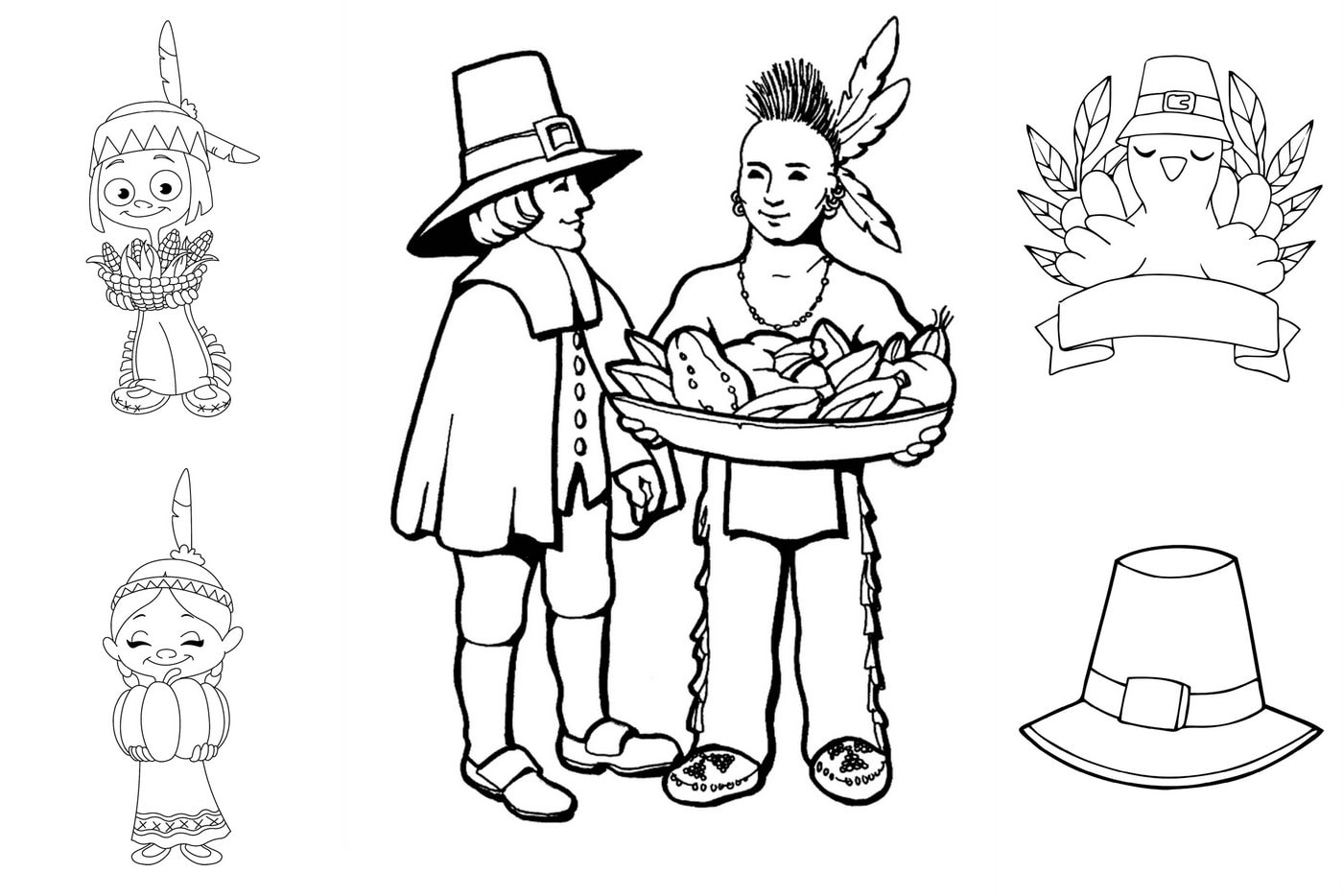 Coloring Pages For Fun Printable Native American