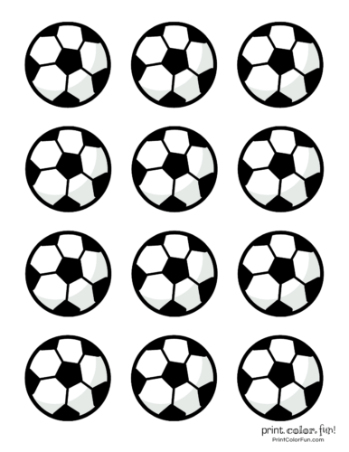 Soccer Ball Coloring Pages Coloring Page Print Color Fun