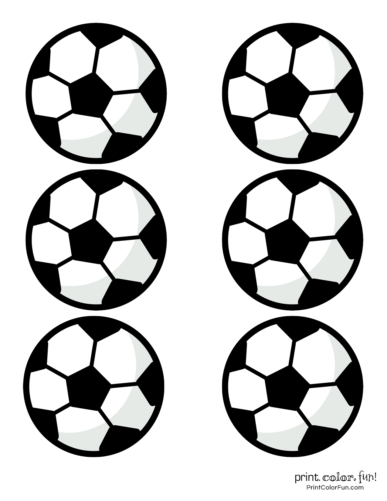 Soccer Ball Template Printable That Are Old Fashioned