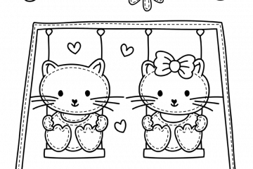 Cat Coloring Pages Printables Archives Print Color Fun Free Printables Coloring Pages Crafts Puzzles Cards To Print