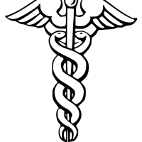 Caduceus medical symbol
