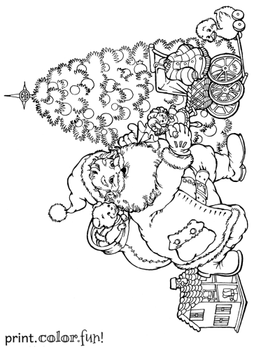 more coloring pages you might like christmaschristmas giftschristmas tree dollhousetoys