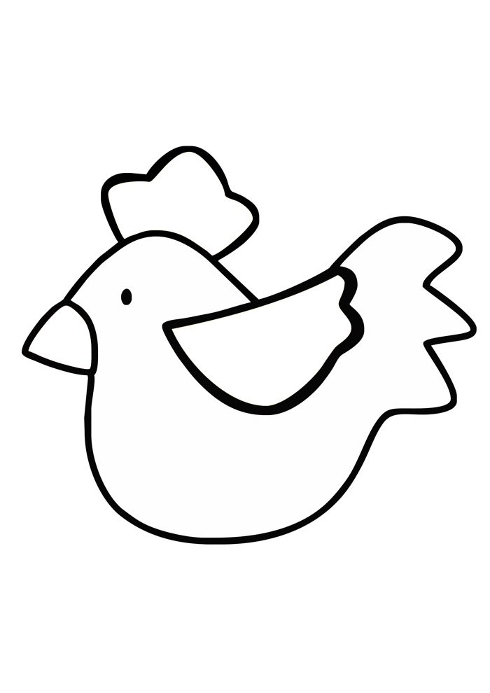 36 Chicken Coloring Pages Coloring Pages