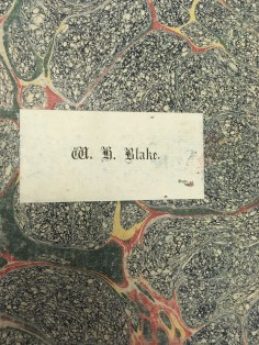 Marbled endpaper