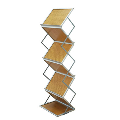 Brochure Stand Wood A3 - Side